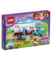 KLOCKI LEGO FRIENDS PRZYCZEPA LECZNICZA DLA KONI 41125