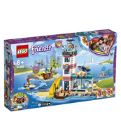 KLOCKI LEGO FRIENDS CENTRUM RATUNKOWE W LATARNI MORSKIEJ 41380