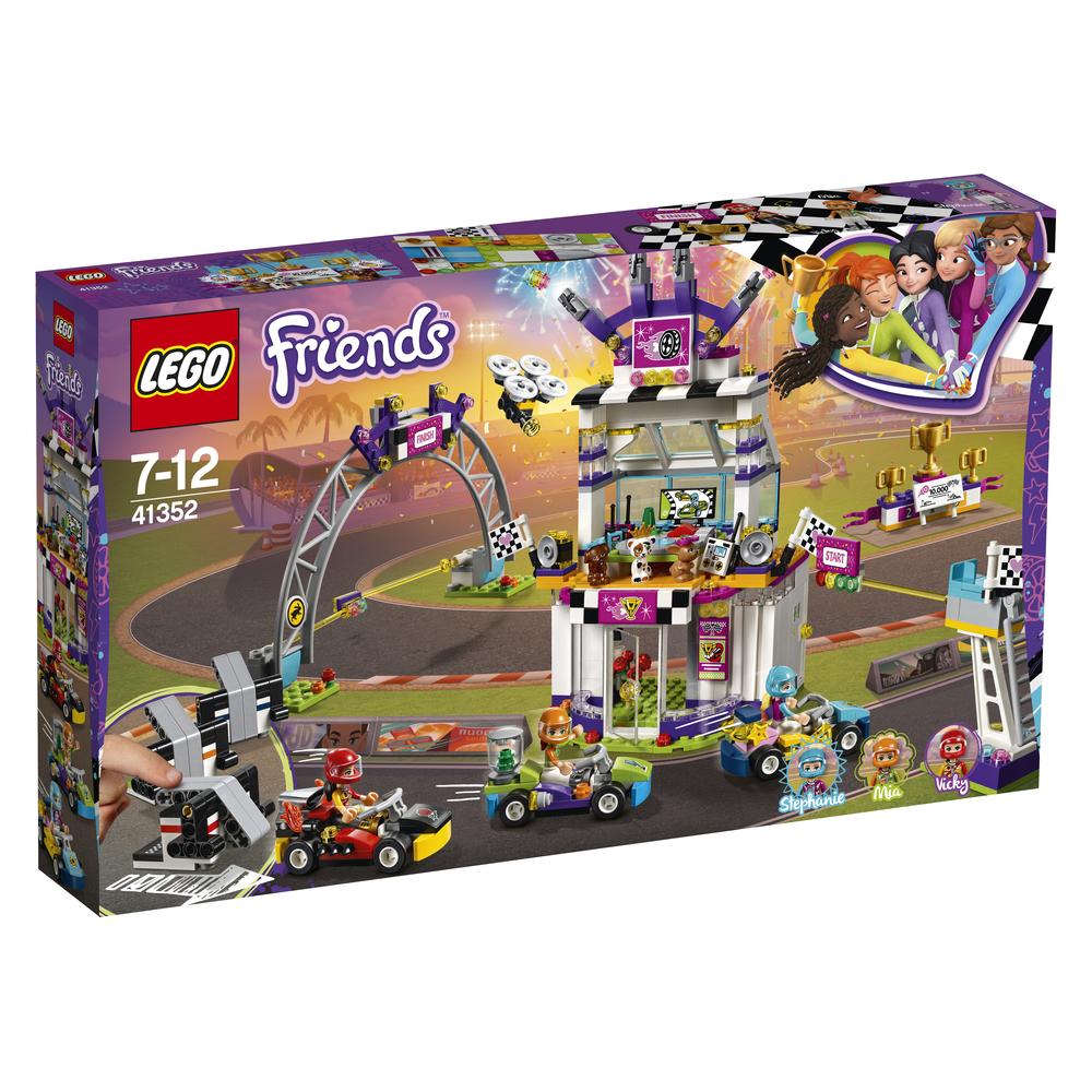KLOCKI LEGO FRIENDS DZIEŃ WIELKIEGO WYŚCIGU 41352