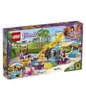 KLOCKI LEGO FRIENDS IMPREZA ANDREI NA BASENIE 41374