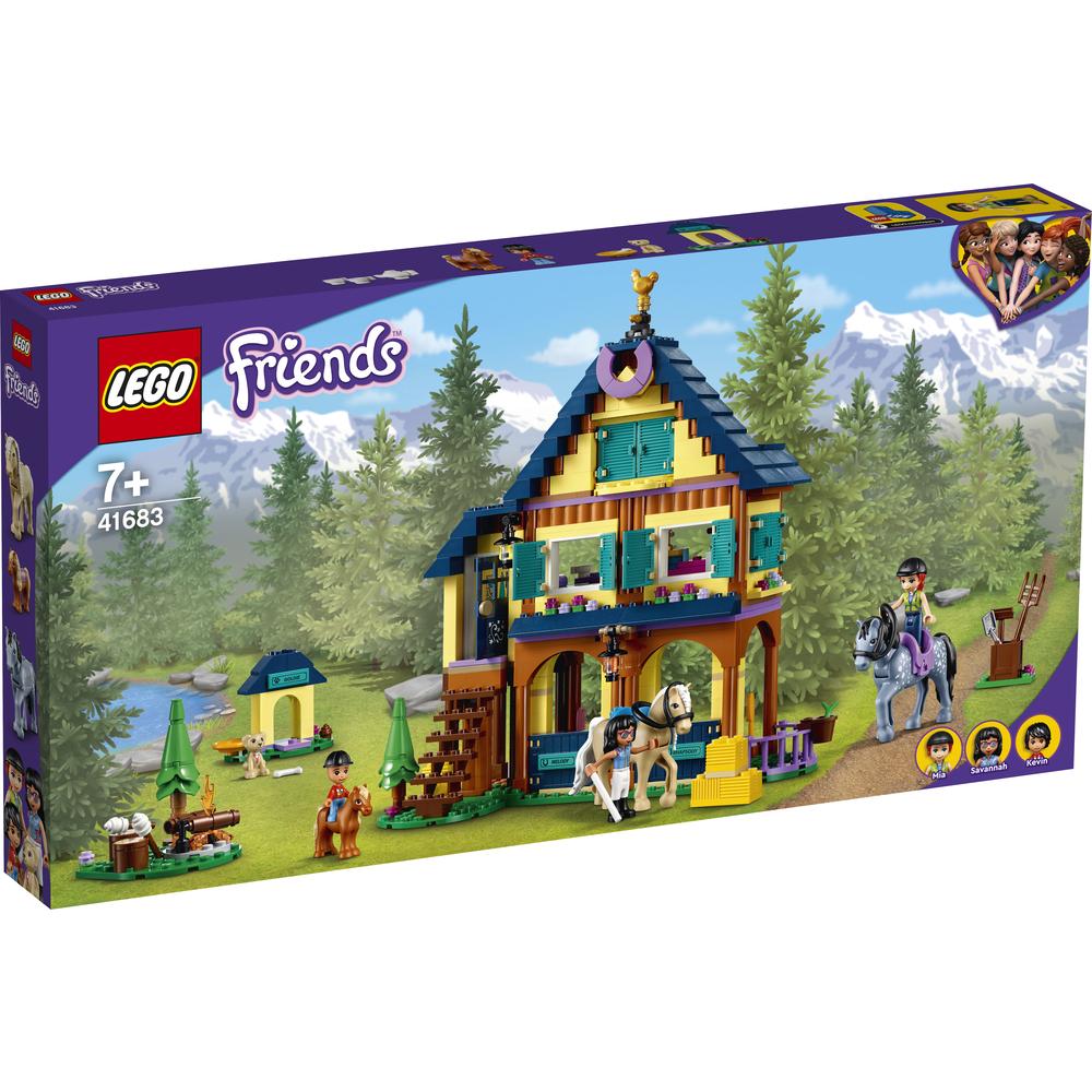 KLOCKI LEGO FRIENDS LEŚNE CENTRUM JEŹDZIECKIE (41683)