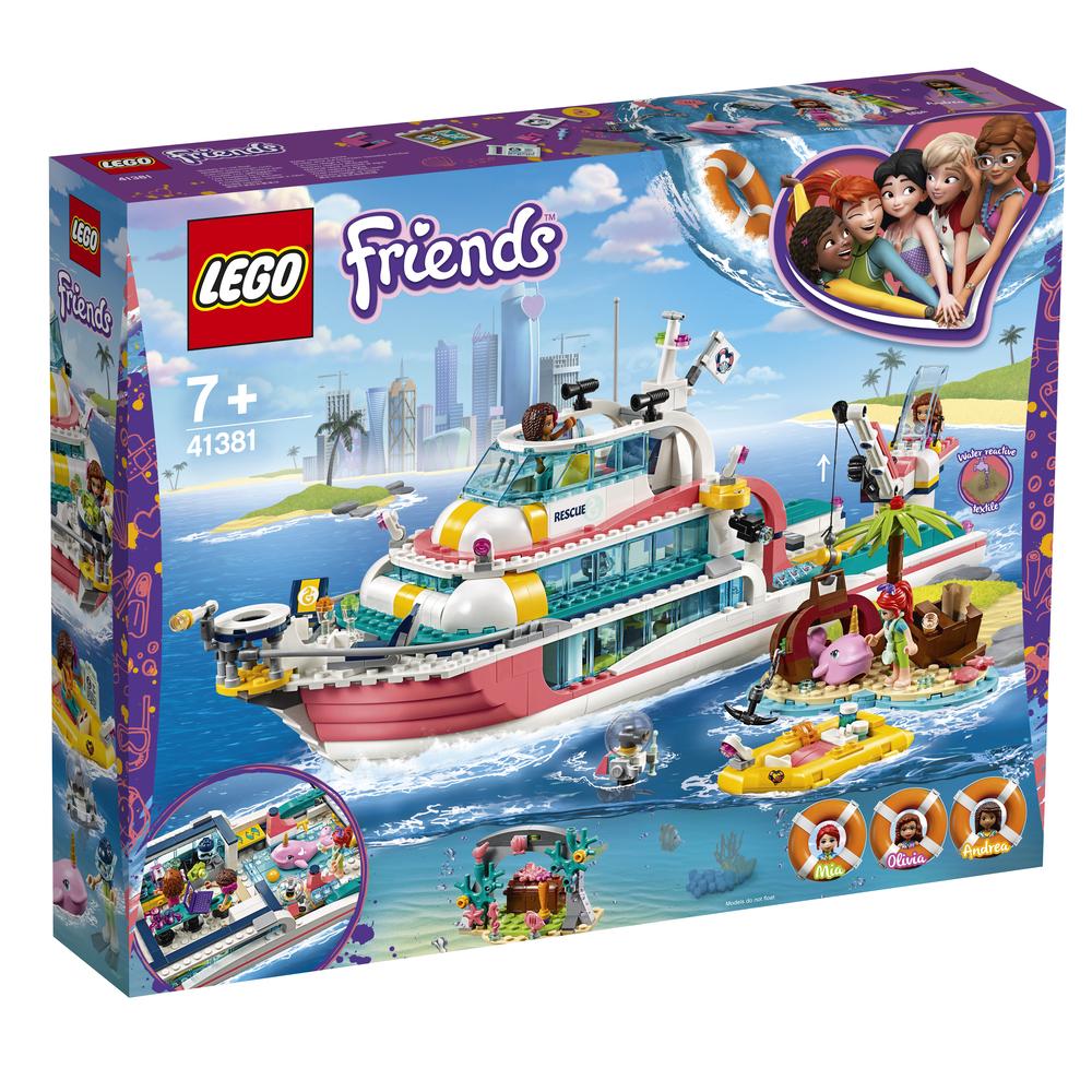KLOCKI LEGO FRIENDS ŁÓDŹ RATUNKOWA 41381
