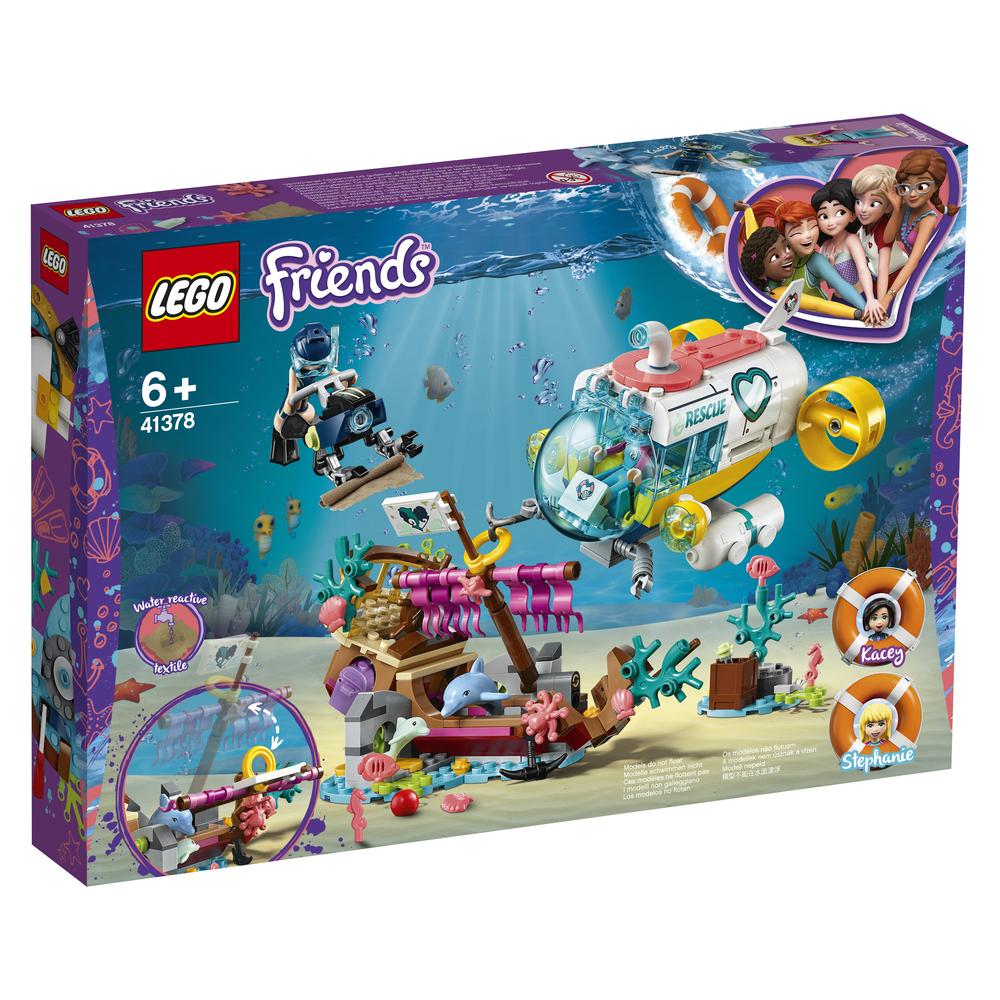 KLOCKI LEGO FRIENDS NA RATUNEK DELFINOM 41378