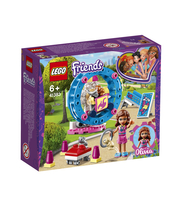 KLOCKI LEGO FRIENDS PLAC ZABAW DLA CHOMIKÓW OLIVII 41383