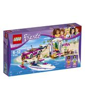 KLOCKI LEGO FRIENDS TRANSPORTER MOTORÓWEK ANDREI 41316