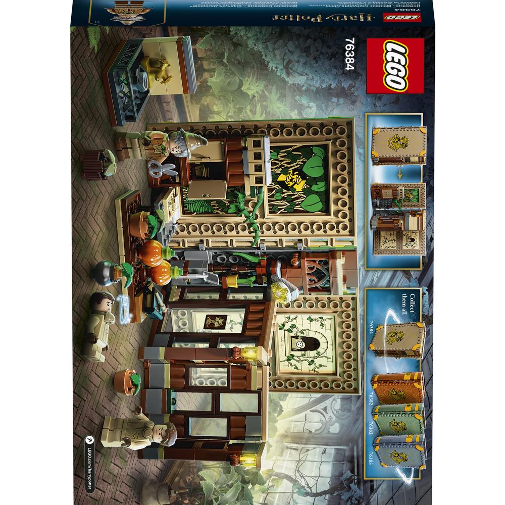 KLOCKI LEGO® HARRY POTTER™ CHWILE Z HOGWARTU™: ZAJĘCIA Z ZIELARSTWA 76384