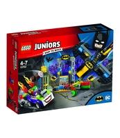 KLOCKI LEGO JUNIORS ATAK JOKERA™ NA JASKINIĘ BATMANA 10753