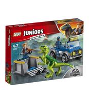 KLOCKI LEGO JUNIORS 'NA RATUNEK RAPTOROM 10757