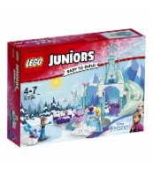 KLOCKI LEGO JUNIORS PLAC ZABAW ANNY I ELSY Z KRAINY LODY 10736