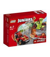 KLOCKI LEGO JUNIORS STARCIE Z WĘŻEM 10722