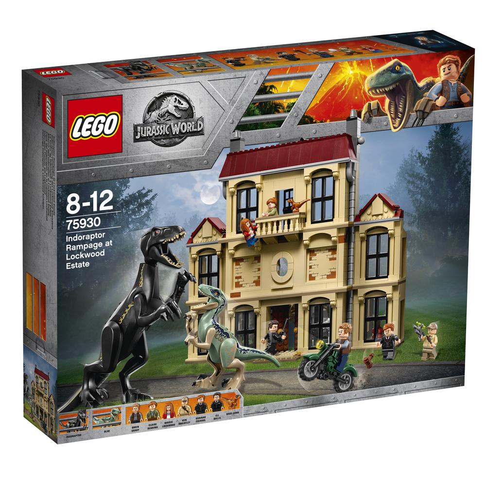 KLOCKI LEGO JURASSIC WORLD ATAK INDORAPTORA 75930