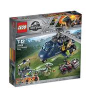 KLOCKI LEGO JURASSIC WORLD POŚCIG ZA ŚMIGŁOWCEM 75928