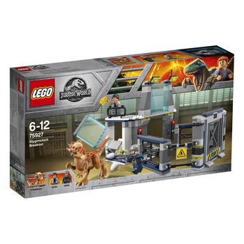 KLOCKI LEGO JURASSIC WORLD UCIECZKA Z LABORATORIUM ZE STYGIMOLOCHEM 75927