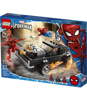 KLOCKI LEGO® MARVEL SUPER HEROES SPIDER-MAN I UPIORNY JEŹDZIEC KONTRA CARNAGE 76173