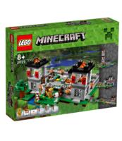 KLOCKI LEGO MINECRAFT FORTECA 21127