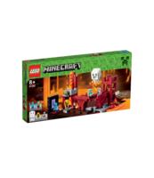 KLOCKI LEGO MINECRAFT FORTECA NETHERU 21122