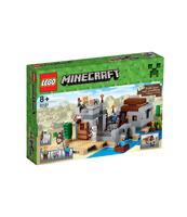 KLOCKI LEGO MINECRAFT PUSTYNNY POSTERUNEK 21121