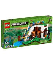 KLOCKI LEGO MINECRAFT BAZA POD WODOSPADEM 21134