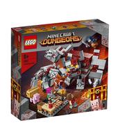KLOCKI LEGO MINECRAFT BITWA O CZERWONY KAMIEŃ 21163