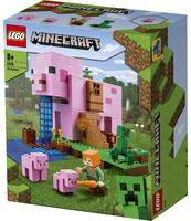 KLOCKI LEGO® MINECRAFT™ DOM W KSZTAŁCIE ŚWINI 21170