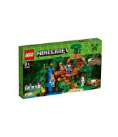 KLOCKI LEGO MINECRAFT DOMEK NA DRZEWIE W DŻUNGLI 21125