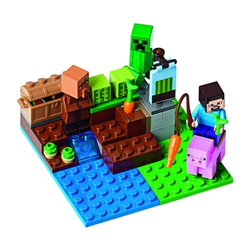 KLOCKI LEGO MINECRAFT FARMA ARBUZÓW 21138