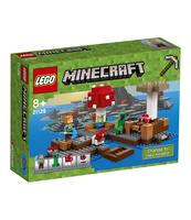 KLOCKI LEGO MINECRAFT GRZYBOWA WYSPA 21129