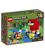 KLOCKI LEGO MINECRAFT HODOWLA OWIEC 21153