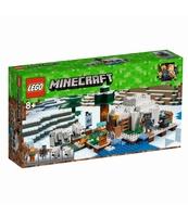 KLOCKI LEGO MINECRAFT IGLOO NIEDŹWIEDZIA POLARNEGO 21142