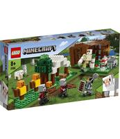KLOCKI LEGO MINECRAFT KRYJÓWKA ROZBÓJNIKÓW 21159