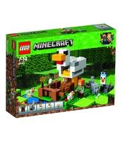 KLOCKI LEGO MINECRAFT KURNIK 21140