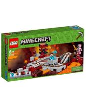 KLOCKI LEGO MINECRAFT LINIA KOLEJOWA W NETHERZE 21130