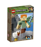 KLOCKI LEGO MINECRAFT MINECRAFT BIGFIG — ALEX Z KURCZAKIEM 21149