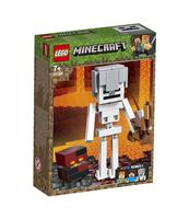 KLOCKI LEGO MINECRAFT MINECRAFT BIGFIG — SZKIELET Z KOSTKĄ MAGMY 21150