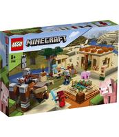 KLOCKI LEGO MINECRAFT NAJAZD ZŁOSADNIKÓW 21160