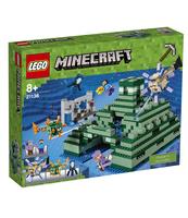 KLOCKI LEGO MINECRAFT OCEANICZNY MONUMENT 21136