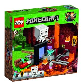 KLOCKI LEGO MINECRAFT PORTAL DO NETHERU 21143