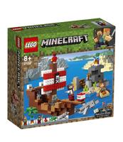 KLOCKI LEGO MINECRAFT PRZYGODA NA STATKU PIRACKIM 21152