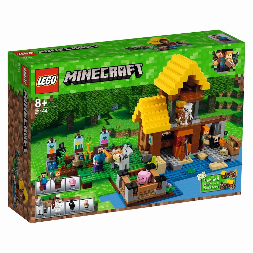 KLOCKI LEGO MINECRAFT WIEJSKA CHATKA 21144