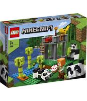 KLOCKI LEGO MINECRAFT ŻŁOBEK DLA PAND 21158
