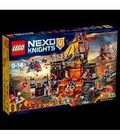 KLOCKI LEGO NEXO WULKANICZNA KRYJÓWKA JESTRO 70323