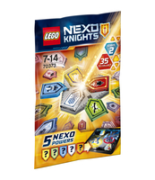 KLOCKI LEGO NEXO KNIGHTS COMBO MOCE NEXO - FALA 2 70373