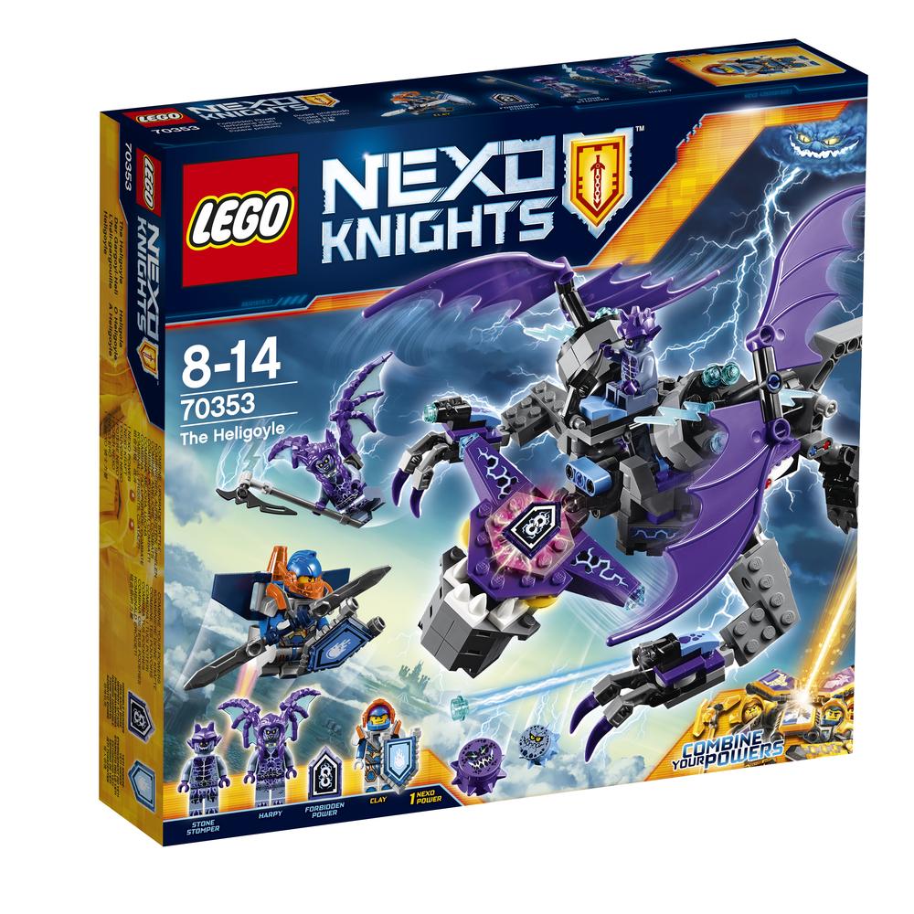 KLOCKI LEGO NEXO KNIGHTS HELIGULEC 70353