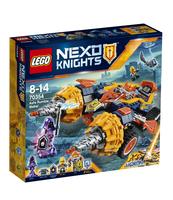 KLOCKI LEGO NEXO KNIGHTS ROZBIJACZ AXLA 70354