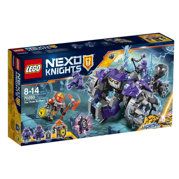 KLOCKI LEGO NEXO KNIGHTS TRZEJ BRACIA 70350