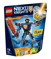KLOCKI LEGO NEXO KNIGHTS ZBROJA CLAYA 70362