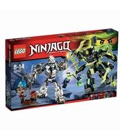 KLOCKI LEGO NINJAGO STARCIE TYTANÓW MECH 70737