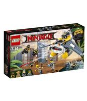 KLOCKI LEGO NINJAGO BOMBOWIEC MANTA RAY 70609