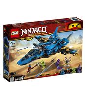 KLOCKI LEGO NINJAGO BURZOWY MYŚLIWIEC JAYA 70668