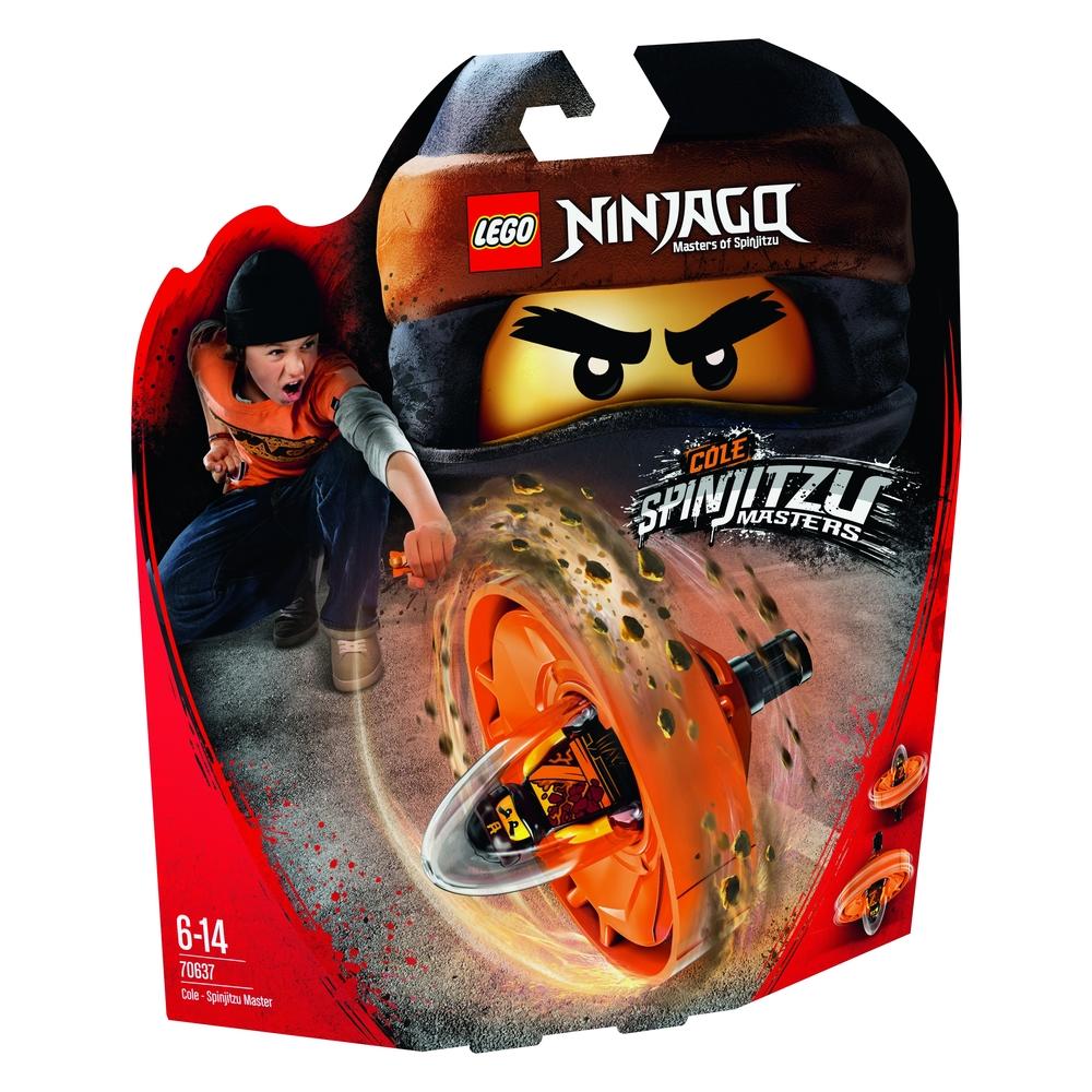 KLOCKI LEGO NINJAGO COLE — MISTRZ SPINJITZU 70637